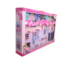 Load image into Gallery viewer, Happy Family Dolls House with Dolls Furniture and Accessories