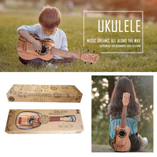 Load image into Gallery viewer, Hawaiian Dreams Ukulele Guitar for Kids – 4 Strings