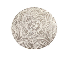 Load image into Gallery viewer, Mandala Memories Round Wooden Sand Side Table
