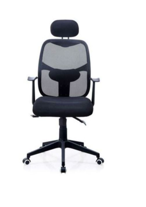 Breathable Mesh Ergonomic Office High Back Lumbar Support and Head Rest