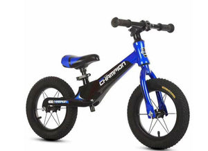 Champion Sport Mountain Bike 12 inch Kids Balance Bike - Blue