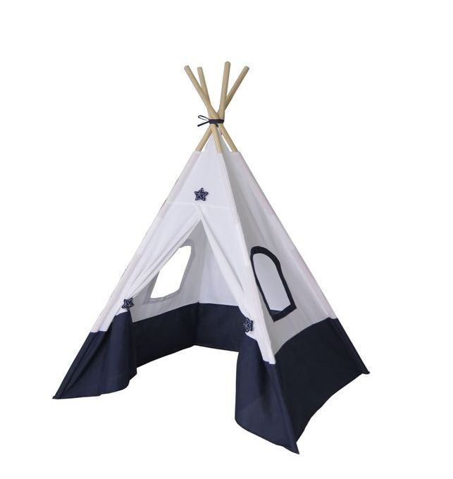 Dream Teepee Tent for Kids - Navy Blue