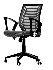 Essentials Mid-Back Mesh Office Chair - Black