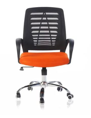 Ergonomic Adjustable Mid-Back Office Chair