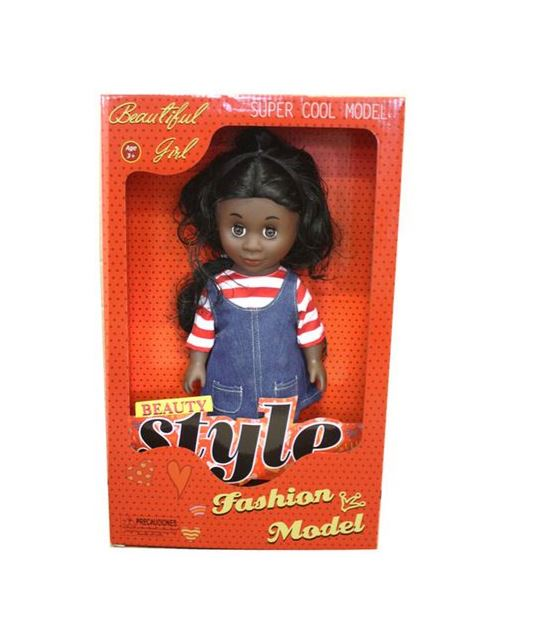 Just Like me Diversity Fashion African Doll - Adventures