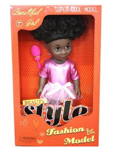Just Like Me Diverse Africa Fashion Doll - Afronics