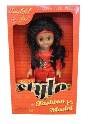 Just Like me Diversity Fashion African Doll - Super Star