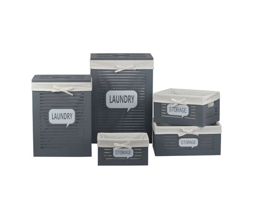 Laundry & Storage 5 Piece Set