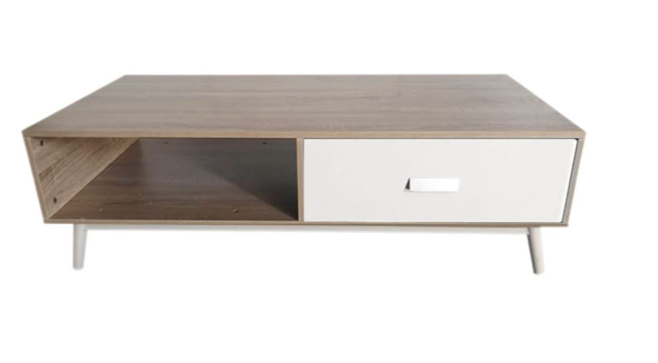 Low Profile Modern Retro Living Room Coffee Table