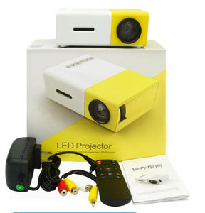 Mini LED HD Projector Support Portable Office Home Cinema
