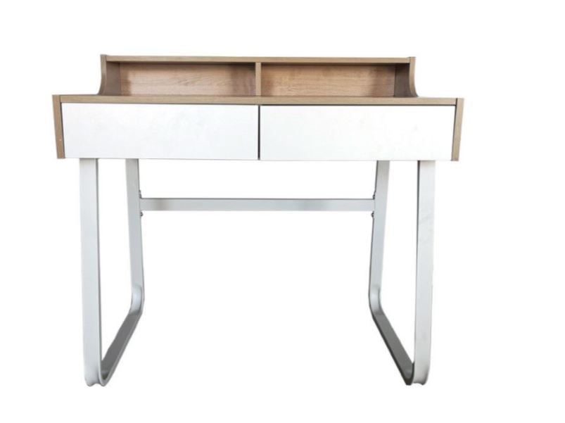 Modern Student Writing Desk with Shelf  Drawers & Pigeonholes