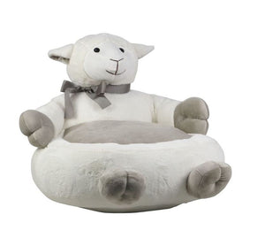 My 1st Bean Bag Sheep Plush Support Chair for Kids
