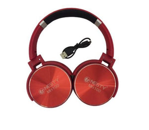 Nesty MH100 Wireless Stereo RED Bass Earphones