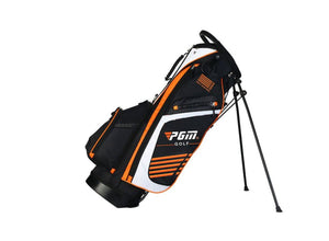 Orange Lightweight PGM 14 Pocket Golf Stand Bag - Dual Strap