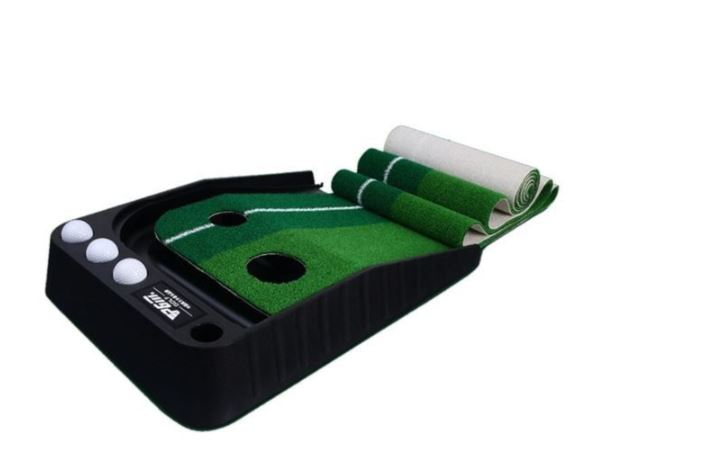 PGM Slope-Adjust Auto-Return Golf Putting Mat Extra Long