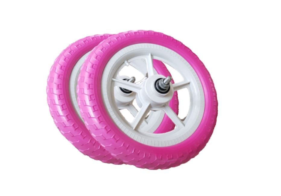 Replacement EVA Tubeless Bicycle Tyre - 12 Inch Pink