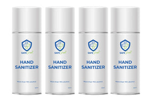 Safe Smart Family Hand Sanitizer Kit 4 pack