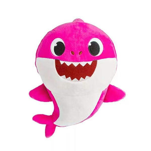 Wish Singing Plush Baby Shark in Pink - 30cm