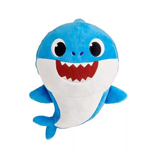 Wish Singing Plush Baby Shark in Blue - 30cm