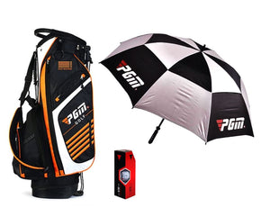 Ultimate PGM Golfing Set � Golf Umbrella Golf Stand and Golf Balls
