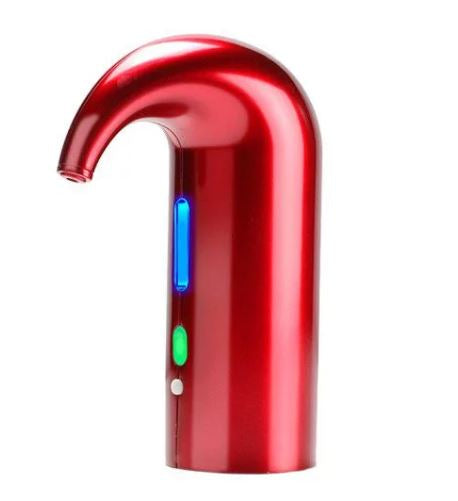 Electric Breather Tap Smart Wine Aerator & Fast Auto Decanter - Red