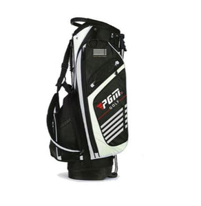 White Lightweight PGM 14 Pocket Golf Stand Bag - Dual Strap