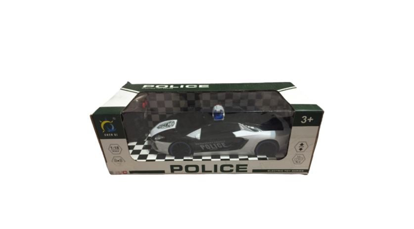 Wish County Police Electric Car 1:18 - Remote Control