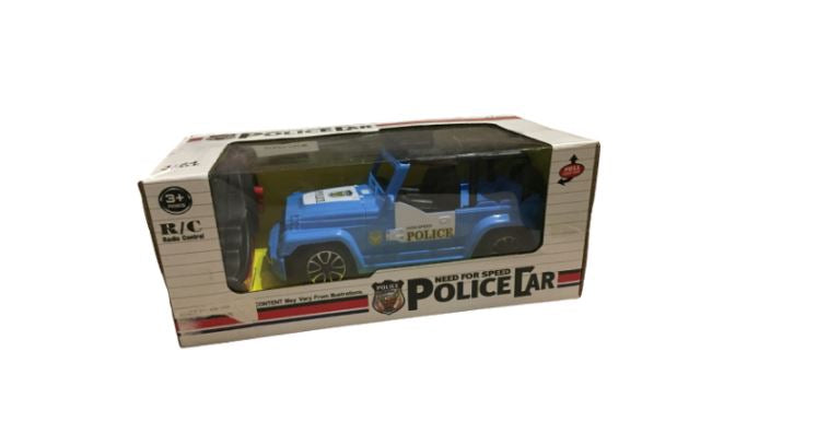 Wish Need For Speed Blue Jeep Police Car 1:24 - Remote Control