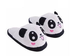 Wish Panda PLush Cartoon Slippers Suitable Extra Small for ages 3 to 5