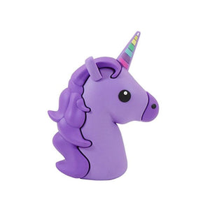 Wish Purple Unicorn Portable Fast Charge Portable Power Bank Charging