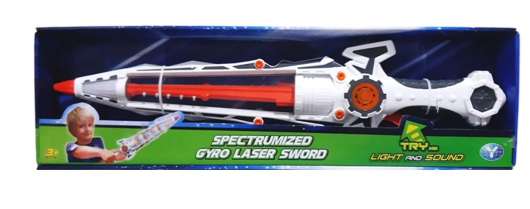 Wish Spectrumized  Kids Gyro Laser Sword