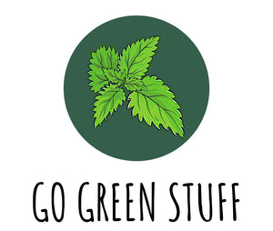 Pure, natural, organic and iron-rich nettle powder. GoGreenStuff.