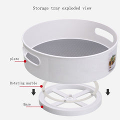 "360 Rotating Tray Kitchen Storage Containers ""40% OFF"""