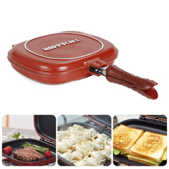HAPPY CALL DOUBLE SIDED GRILL FRYING PAN