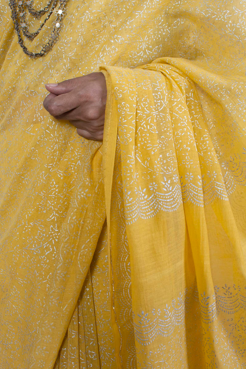 Kamalbel Sari | Yellow