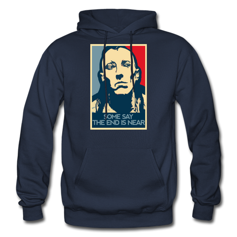 Maynard is my Only HOPE Mens Heavyweight Comfy Hoodie - navy