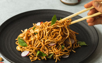 Chilli Peanut Butter Noodle Recipe