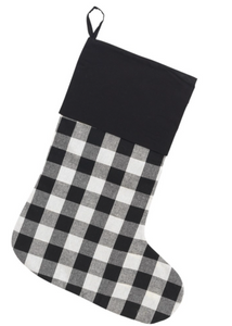 Buffalo Plaid Holiday Stockings-FREE SHIPPING THRU 12/1