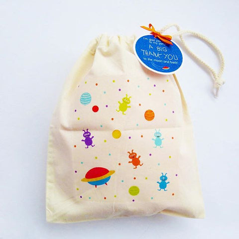 Canvas Party Bag - Space