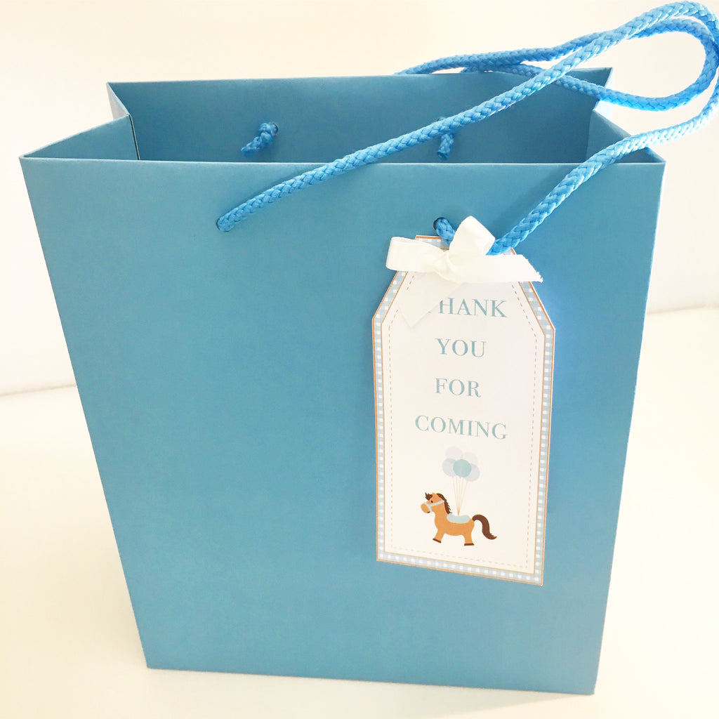Pony Rope Handle Card Party Bag