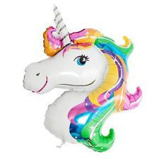 Unicorn Foil Head Balloon