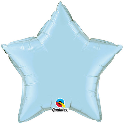 Pale Blue Star Foil Balloon