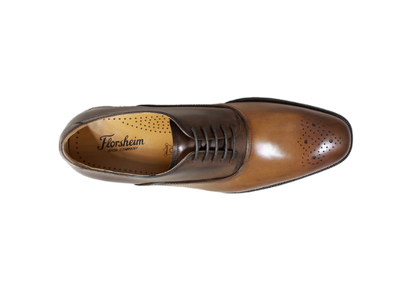 Burlington Medallion Toe Blucher