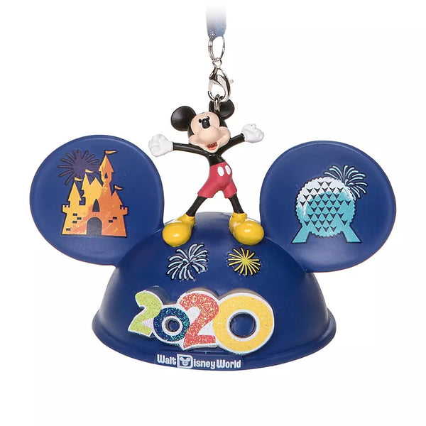 Mickey and Friends Light Up Ear Hat Ornament