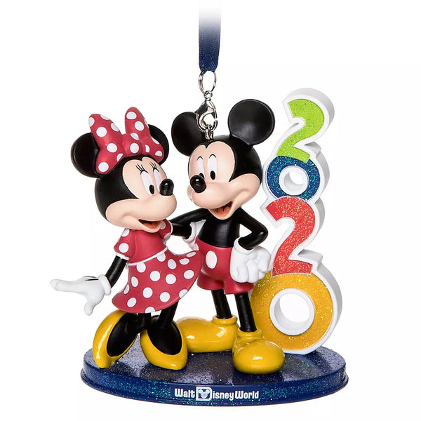 2020 Mickey and Minnie Figural Ornament