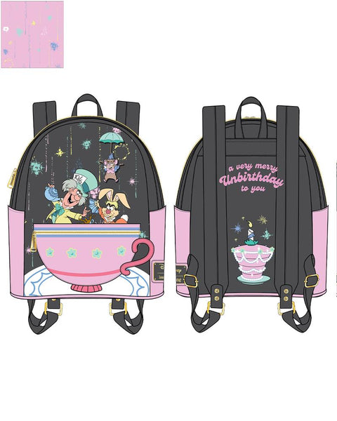 PRE-ORDER JUNE LF ALICE IN WONDERLAND VERY ERRS UNBIRTHDAY TO YOU MINI BACKPACK