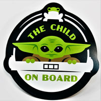 Baby Yoda Baby on Board Magnet