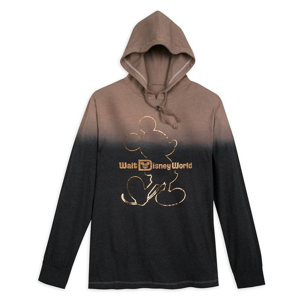 Belle of the Ball Bronze Long Sleeve Hooded Shirt