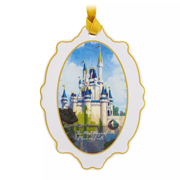 Cinderella's Castle Christmas Ornament