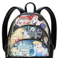 Disney 3 Princess Loungefly Mini Backpack